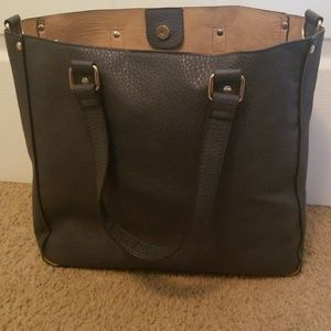 Just Fab leather tote
